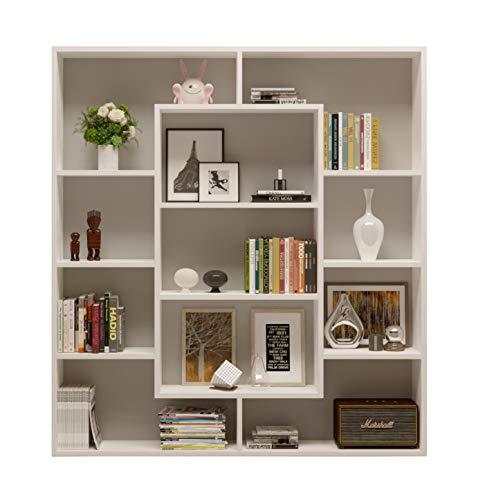 Homidea venus libreria - scaffale per libri - scaffale per ufficio/soggiorno dal design moderno (bianco)
