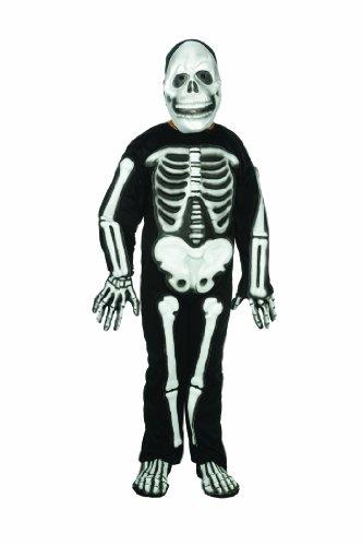 kelett Kost-m - Gr--e Kind Gro-e 12-14 (3d Skelett Kind Kostüme)