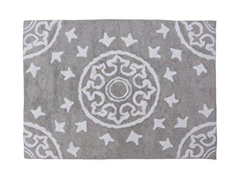 Aratextil Dune Tapis Enfant, Coton, Gris, 120 x 160 cm