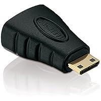 HDSupply DVI maschio a HDMI femmina Adattatore (placcato oro, Full HD, 1080p, Nero