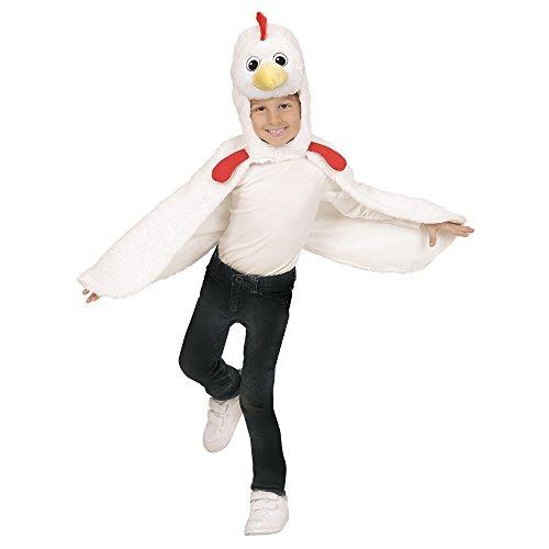 Widmann - Kinderkostüm aus Plüsch, Umhang mit Kapuze und Maske (Kinder Kostüme Party Ideen)