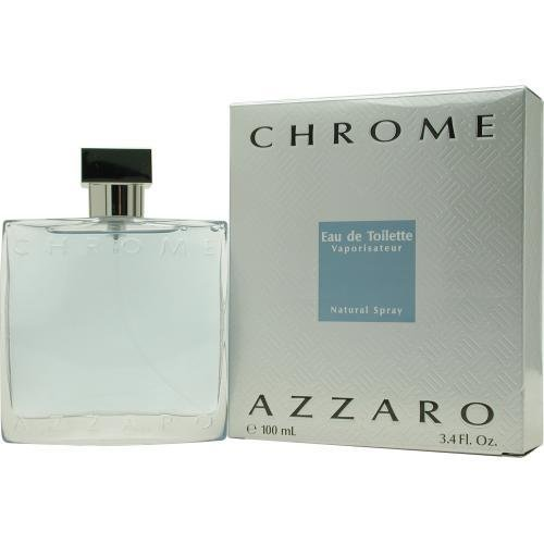 Azzaro Chrome Eau De Toilette Spray, 100.55ml