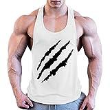 0fb9b2f63e12 Gilet Uomo Senza Maniche Fitness Stringers Abbigliamento Ji Xuan  Bodybuilding T-Shirt in Cotone Uomo