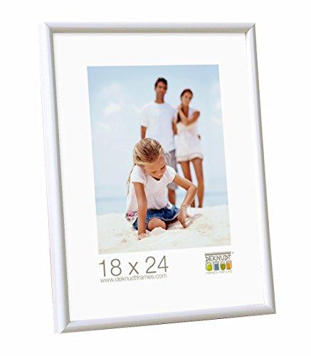 Deknudt Frames S011S1 Cadre Photo Résine Blanc 40 x 60 cm