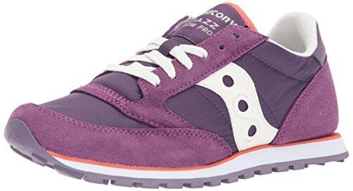 Saucony  Jazz Lowpro, Damen Sneaker violett Purple/white (Originals Frauen Für Saucony)