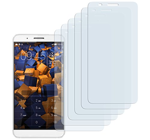 mumbi Schutzfolie kompatibel mit Huawei Shotx Folie klar, Bildschirmschutzfolie (6x)