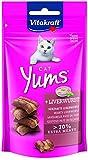Vitakraft Katzensnacks, Fleischige Häppchen mit Leberwurst