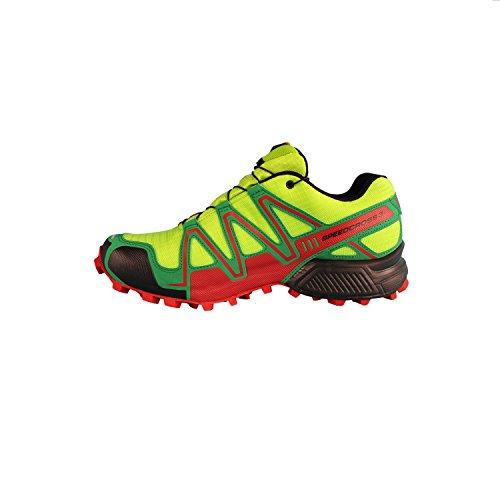 Salomon Speedcross Transalp GTX 3-Scarpe da escursionismo, trekking, colore: verde - GR/SIN