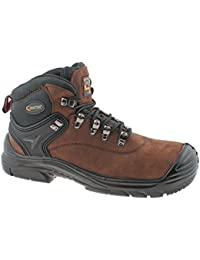 Grafters - Zapatillas para hombre, color negro, talla 10.5 UK / 45 EU