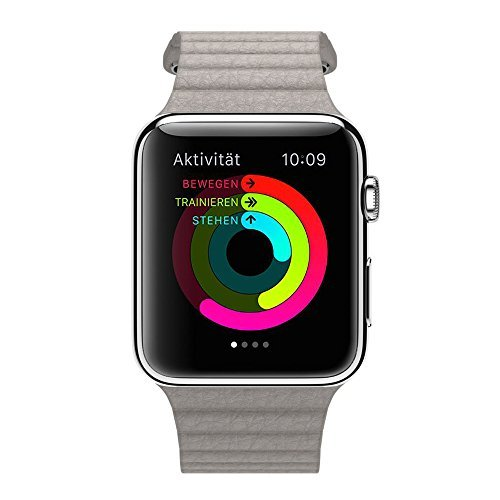 apple-watch-42mm-kunstleder-armband-ersatz-uhren-schlaufen-armband-mit-integriertem-adapter-loop-gra