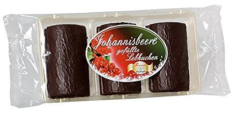 Frenzel Pulsnitzer Lebkuchen - gefüllte Johannisbeerschnitte 125g (Gefüllte Rote Himbeeren)