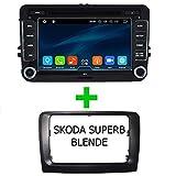TAFFIO® Skoda Superb Android 8 Multimedia 8