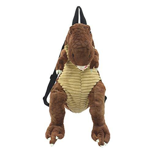 Kögler Dino - Rucksack für Kinder, T-Rex Dunkelbraun, ca. 50 cm Mochila Infantil 55 Centimeters (Dunkelbraun)