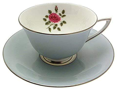 Royal Doulton Chateau Rose H4940O Cup and Saucer by Chateau