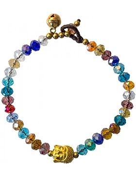 Armband Buddha bunt