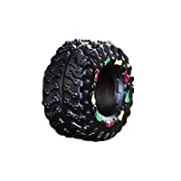 DGdolph Durable Pet Puppy Dog Chew Toys Puppy Teething Cleaning Small Tire Chew Toysblack
