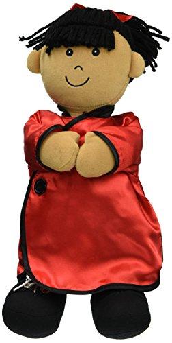Miniland miniland9630640cm Etni asiatischen Verschluss Girl Plüsch Spielzeug