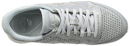 Nike Damen W Internationalist Prm Turnschuhe Argent (Platine Métallisé/Voile/Platine Pur)