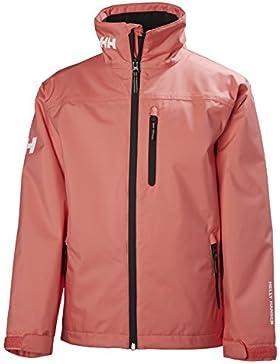 Helly Hansen Kid 's Crew chaqueta para capa intermedia para mujer, Unisex, Shell Pink, talla 12