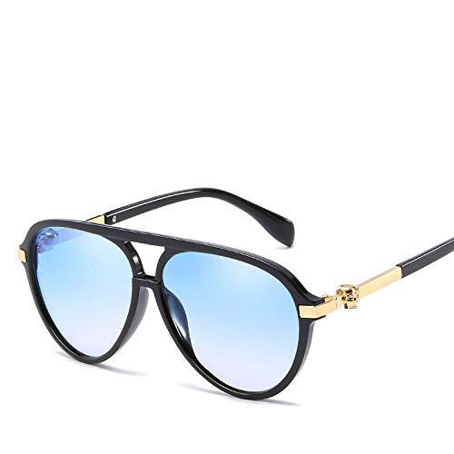 AAMOUSE Sonnenbrillen Trendy gradienten Spiegel schädel Sonnenbrillen männer FrauenPunk Eyewear Pilot Aviator Sonnenbrille Sommer Strahlen