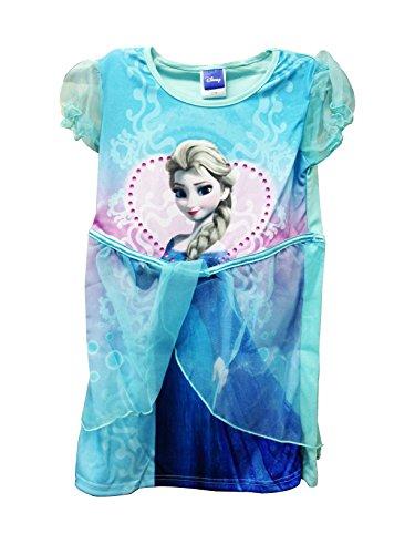 Disney Princess Frozen Elsa Mädchen Blau Party Tutu Kleid 3-4 Jahre (Disney Princess Tutu Kleid)