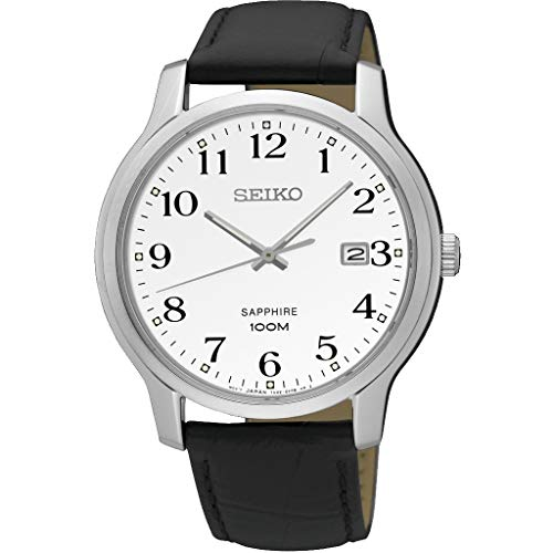 Quarz Uhr mit Leder Armband SGEH69P1 ()