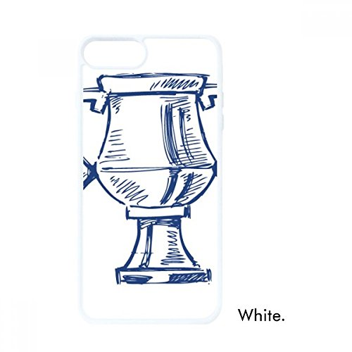 DIYthinker Football Championship Trophy Blau Weiß Apple-phonecase Abdeckung Fall-Geschenk