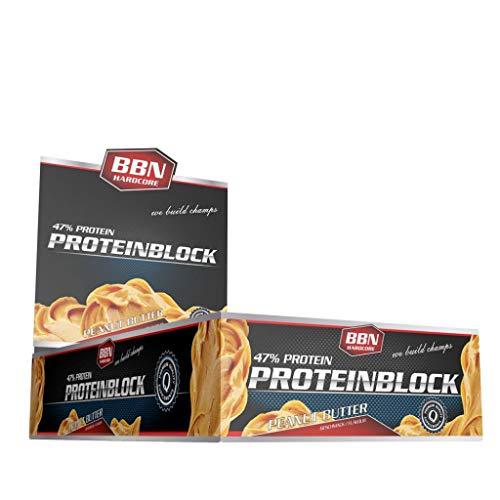 2 x BBN Hardcore Protein Block, 15 Riegel je 90g , Joghurt-Lemon (2er Pack) -
