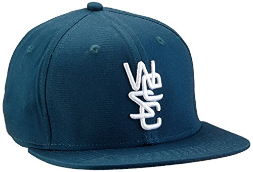 WESC Cap Overlay Snapback, Mallard Blue, One size, E207560 (Overlay Wesc)
