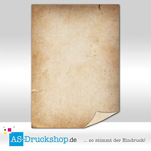 Papiro/carta pergamena–certificato/50fogli/din a4/90g di offset carta