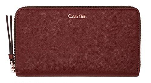 Calvin Klein Jeans - M4rissa Large Ziparound, Portafogli Donna Rosso