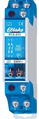 Eltako R12-200-230V Elektromechanische Schaltrelais von Eltako - Lampenhans.de