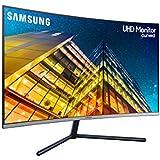 "Samsung U32R590CWU Pantalla para PC 80 cm (31.5"") 4K Ultra HD Curva Black - Monitor (80 cm (31.5""), 3840 x 2160 Pixeles, 4K Ultra HD, 4 ms, Black)"