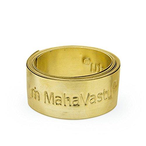MahaVastu Brass Strip Vastu Remedy for Zone Balancing