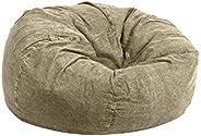 Regal In House Jeans Bean Bag Chair Large Size - Grey Biege - JBB0159003