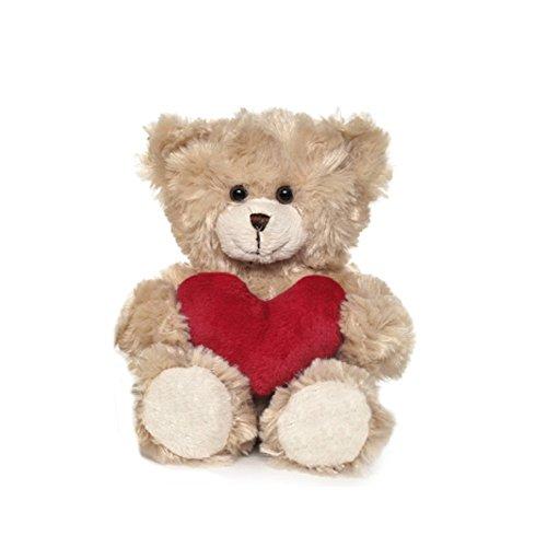 Teddykompaniet Teddy Bär mit Herz Samuel 2381. Ideal zum Valentinstag oder Geburtstag Geschenk.