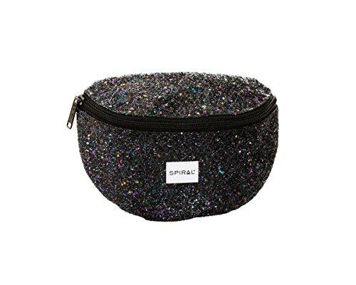 Spiral Midnight Stardust Bum Bag Sac Banane Sport, 24 cm, 3 liters, Noir (Black)