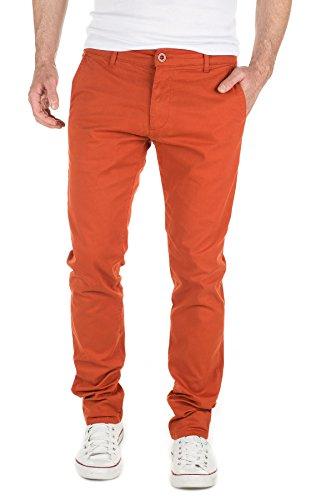 Yazubi Herren Chino Hose Luke, Orange (KETCHUP...