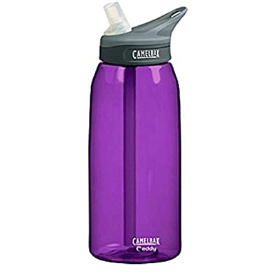 Camelbak EDDY Wasser Trink Flasche Lila 1000 ml Sport Outdoor BPA frei Tropfsicher, 53535