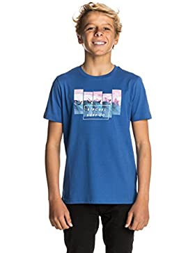 Rip Curl On The Lip SS tee Camiseta, Niños, Turkish Sea, 16
