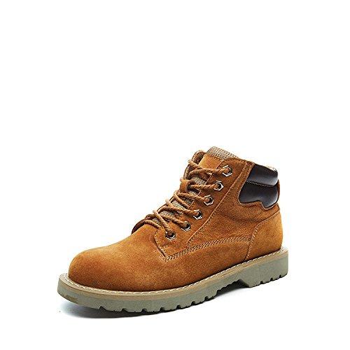 Bottes Bottes courtes Bottes Martin haut de chaleur de friction chaussures chaudes