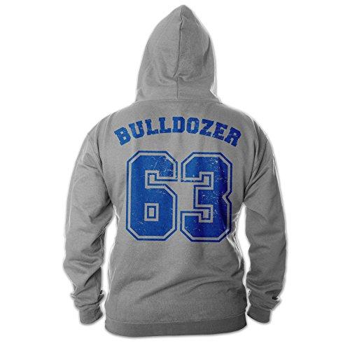 Bud Spencer Herren Bulldozer 63 Hoodie (grau) (5XL)