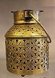KNOBSWORLD Knobsword Photophore en métal pour Bougie Chauffe-Plat à Suspendre pour décoration de Table de Mariage, décoration de Table, Couleur dorée
