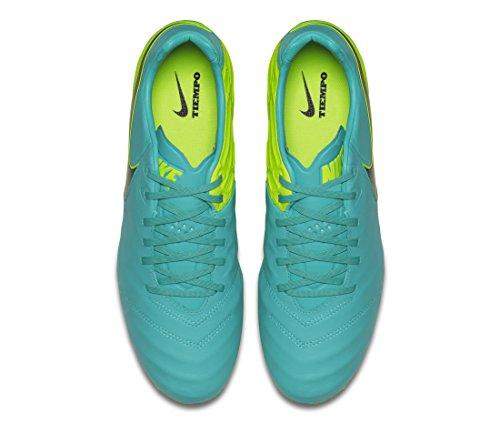 Nike Herren Tiempo Legacy Ii Fg Fußballschuhe CLEAR JADE/BLACK-VOLT