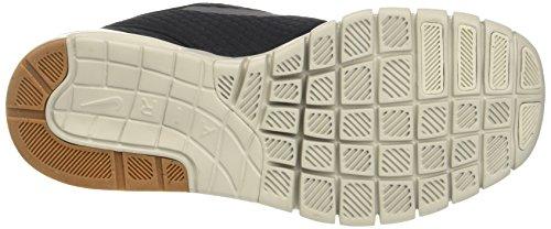 Nike Stefan Janoski Max, Scarpe da Skateboard Uomo Nero (Black/dark Grey/gum Med Brown/light Bone 020)