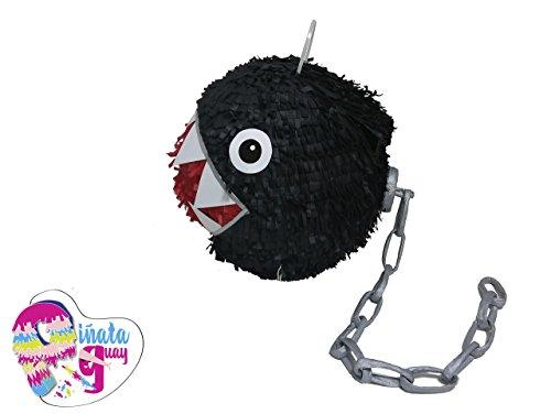 . Ketten Chomp Piñata. Super Mario Piñata. 3D. 3D (Mario Pinata)