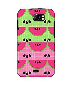 Pick Pattern Back Cover for Micromax A110 Canvas 2 (MATTE)