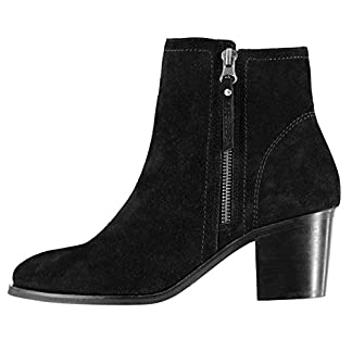 Firetrap Womens Queenie Ankle Boots Heeled Zip Tonal