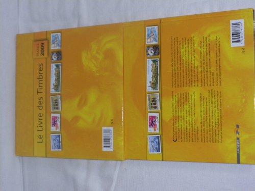 Le livre des timbres France 2009