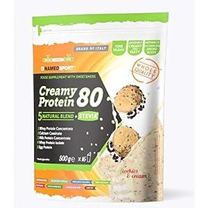 Named Sport Creamy Protein 80 Cookies & Cream - 500 Gr 8 spesavip